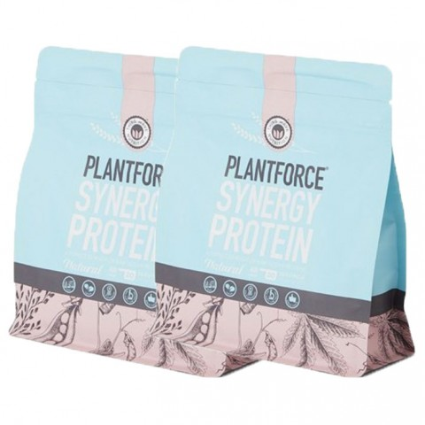 PlantForce Synergy Natural - 2 x 400g