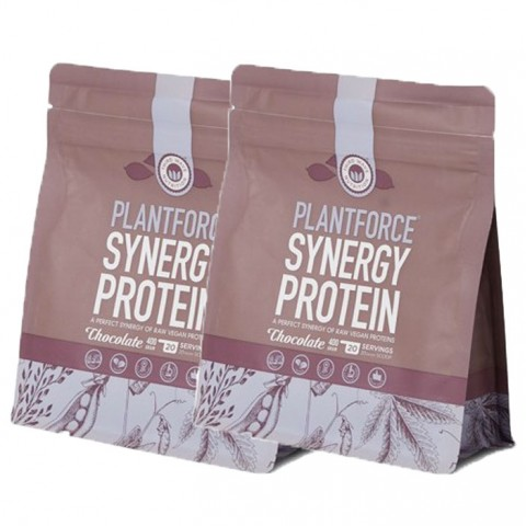 PlantForce Synergy Chocolate - 2 x 400g