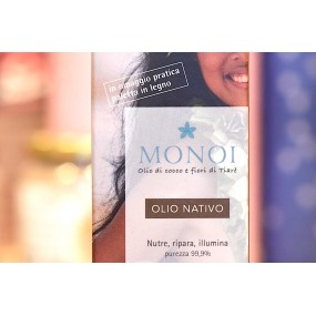 Monoi Olio Nativo con olio di cocco e fiori di Tiarè - 100ml