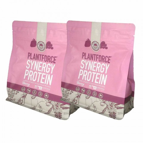 PlantForce Synergy Berry - 2 x  400g