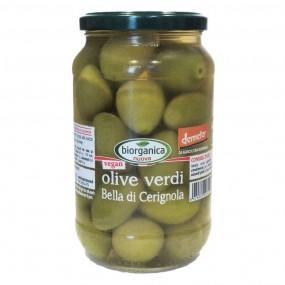 Olive verdi Bella di Cerignola biodinamiche