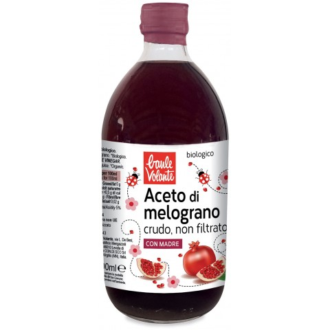 Aceto di Melograno crudo bio 500ml