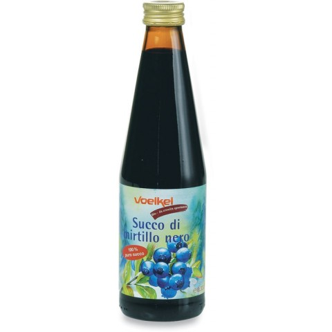 Succo di Mirtillo nero bio -330ml