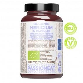 Hericium bio in capsule veg - 140 capsule da 500mg
