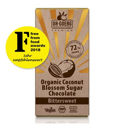 Tavoletta cioccolato bio 72% Fondente