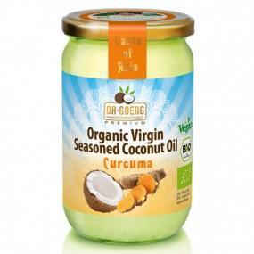 Olio di Cocco bio con Curcuma - 190ml
