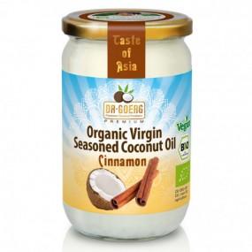 Olio di Cocco bio con Cannella- 190ml