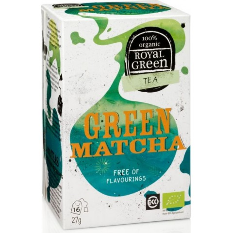 Royal Green Organic Green Matcha Tea