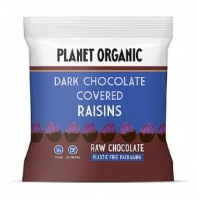 Uvetta ricoperta al cioccolato fondente 30g