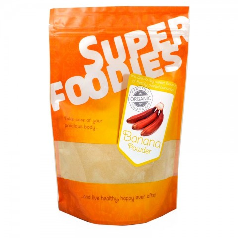 Banana rossa bio in polvere - 500g