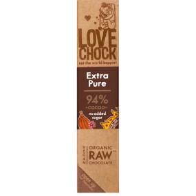Cioccolato Fondente 94% Extra Pure 40g