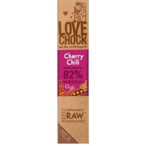 Tavoletta Cioccolato Fondente 82% Cherry Chili 40g