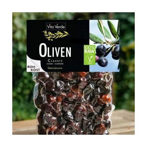 Olive biologiche crude di Nyons NUOVA CONFEZIONE 500g
