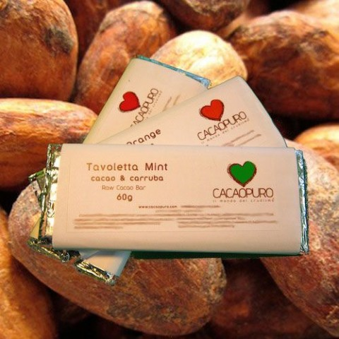 Tavoletta Mint Cacao & Carruba