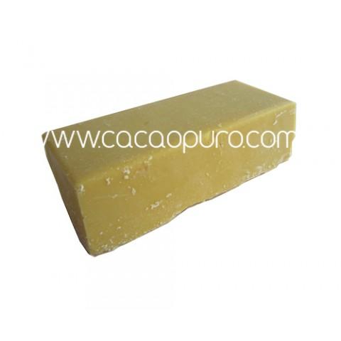 Burro di Cacao Crudo bio - 250g in panetto