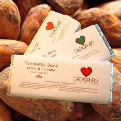 Tavoletta Dark Cacao Crudo & Carruba